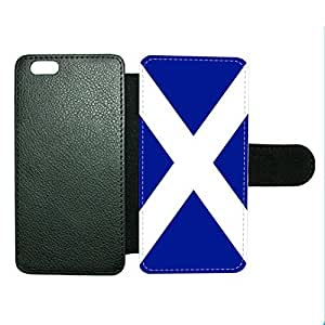 Case Fun Case Fun Scotland Flag Faux Leather Wallet Case Cover for Apple iPhone 6 4.7 inch