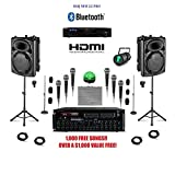 Complete Bluetooth Digital Karaoke System Professional Player for Karaoke & DJ Equipment