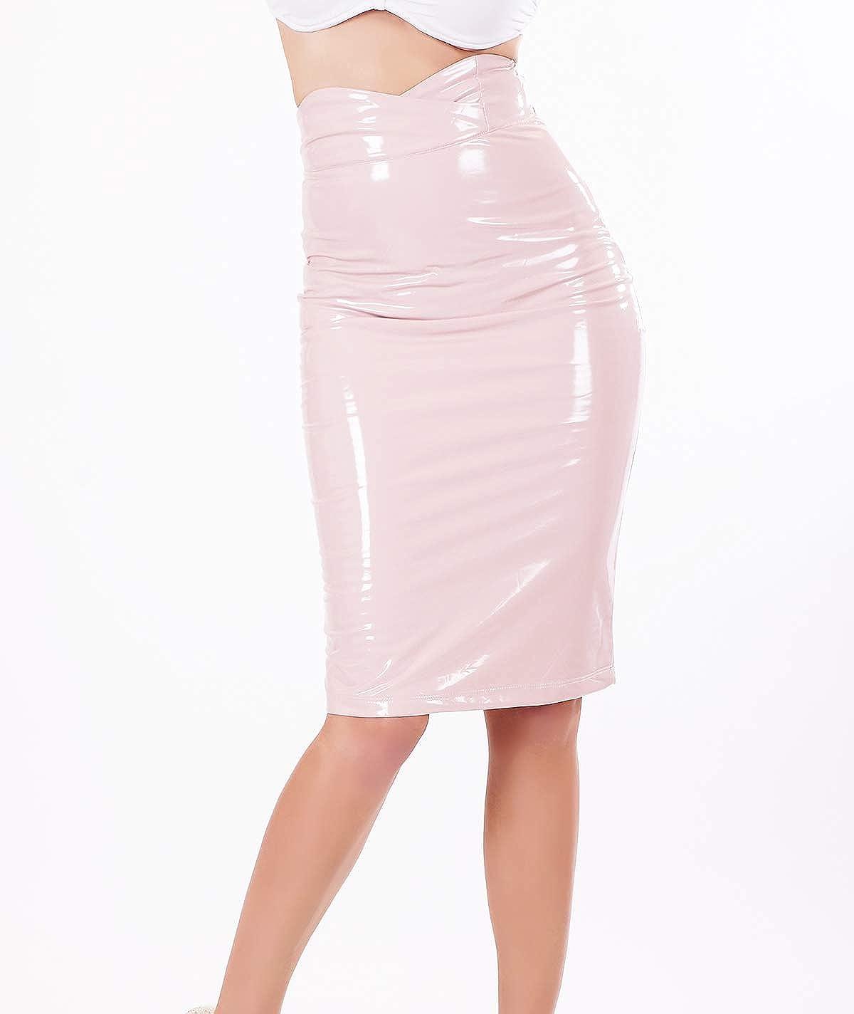 Only Fashion - Falda - para Mujer Rosa S: Amazon.es: Ropa y accesorios