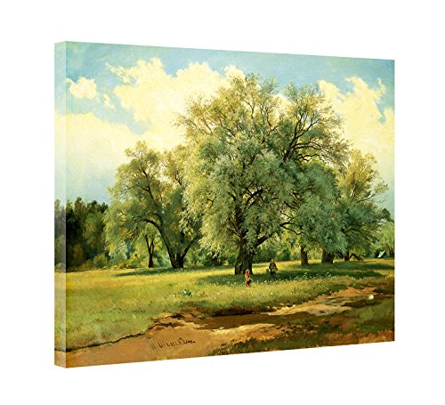 19th Century Canvas Painting - 9