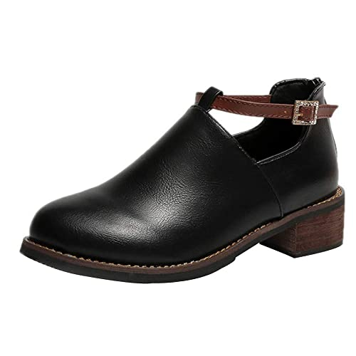 7a813f7f822 Zapatillas Mujer BBestseller Zapatos Casuales Cabeza Redonda Zapatos Planos  para Mujeres Zapatos con Cordones Zapatos Deportivos Sneakers: Amazon.es:  ...