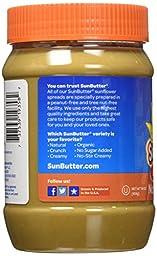 SunButter Sunflower Butter, Delicious, No Sugar Added Alternative to Peanut Butter, 16 oz plastic jars, Pack of 6