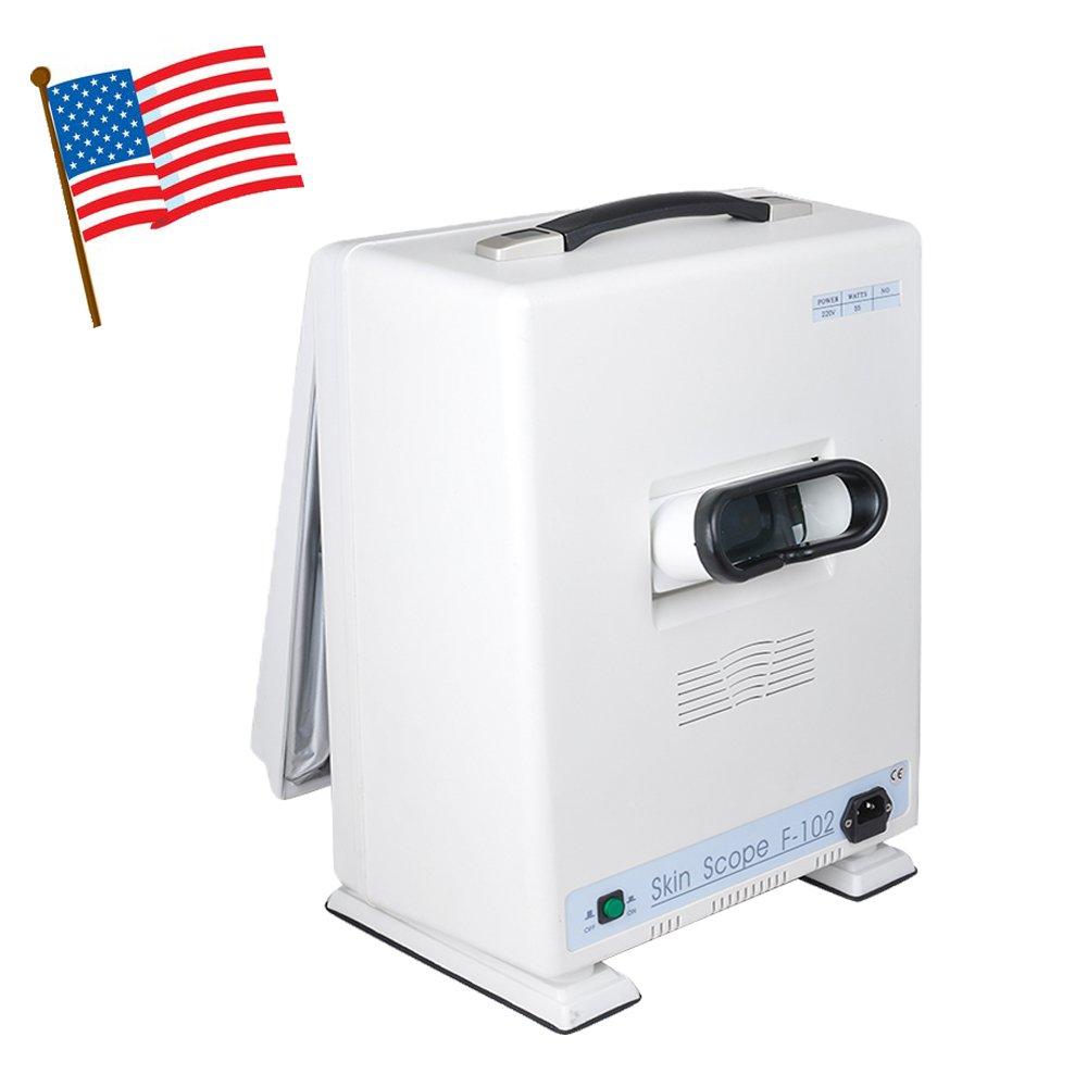 Pevor Facial Skin Scanner Analyzer Diagnosis Beauty Machine Face Scope Clinicians Aesthetic Skin Analyzer Exam Machine Shipping from USA