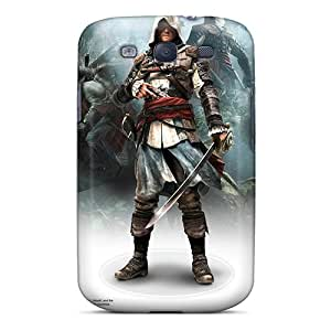 Galaxy S3 Covers Cases - Eco-friendly Packaging(assassins Creed Iv Black Flag Game)