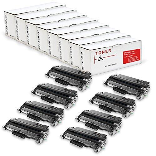 Xaa Black Laser Toner - 8 Pack Compatible Samsung MLTD105L, 105L, MLT-D105L/XAA High Yield Black Laser Toner Cartridge for Samsung ML-1910, ML-1915, ML-2525, ML-2525W, ML-2545, ML-2580n, SCX-4600, SCX-4623F, SCX-4623FN, SCX-4623FW, SF-650, SF-650P Printers By INKUTEN ©