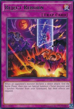 Yu-Gi-Oh! - Reject Reborn (BOSH-EN071) - Breakers of Shadow - Unlimited Edition - Rare
