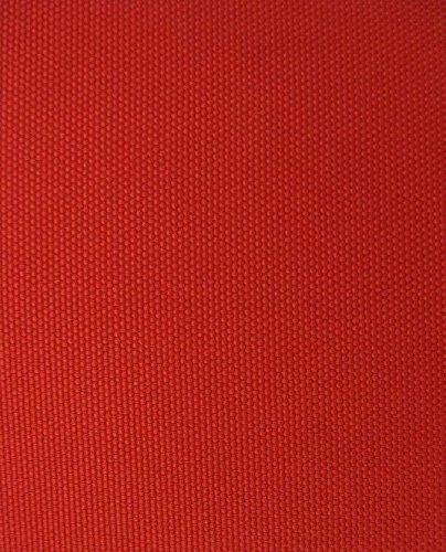 Solid Canvas Waterproof / UV Protected Outdoor Fabric Pro Tuff Colors Sold By The 5 Yard Bolt (Red)
