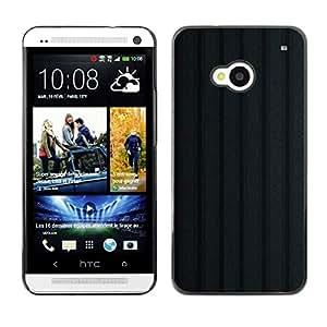 // CIUDAD ACTUAL MECELL // SmartPhone funda carcasa de policarbonato de plástico fresco imagen para HTC uno M7 /// Textura negro ///