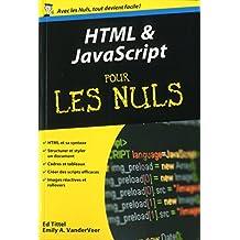 HTML et Javascript Poche Pour les Nuls (French Edition)