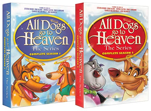 All Dogs Go to Heaven The Series (Complete Season 1 / Season 2) (2-Pack) (All Dogs Go To Heaven Tv Show)