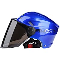 Ecloud Shop® Visor abatible Medio casco modular