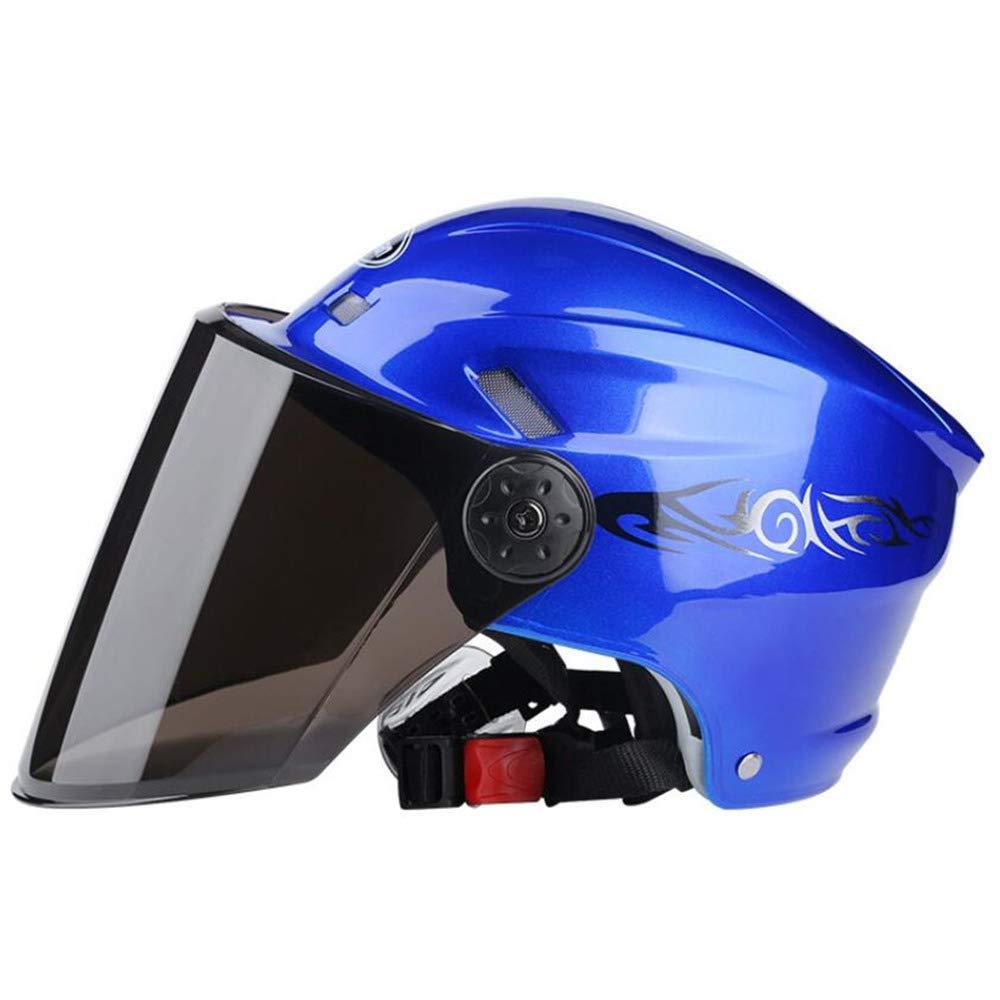 Ecloud Shop/® Visor de Bicicleta Frontal Levante el Casco de Invierno Modular con Protector Solar para Hombres y Mujeres Casco de autom/óvil el/éctrico Casco de Bicicleta Rosa
