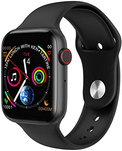 Smart Watch 5 Cellular, 44 mm , Fittness Activity Tracker, Heart Rate, Sleep Monitor, Calorie Counter, Pedometer for Samsung Android iPhone. Smartwatch with 1.54 Full-Touch Color Screen.