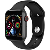 OPTA RSB-132 Hektor Bluetooth Smart Watch with Call & Phonebook Function| HD Large Color Display| ECG & Health Monitoring (Black)