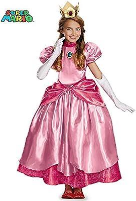 Disfraz Princesa Peach Prestige niña - de 7 a 8 años: Amazon.es ...