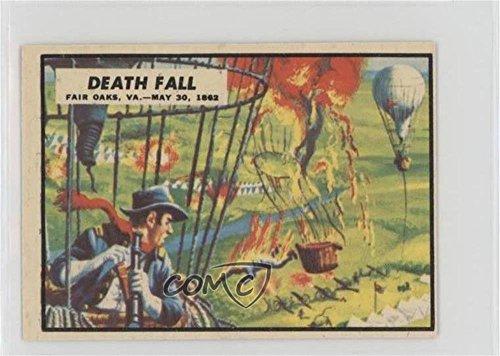 (Death Fall (Trading Card) 1962 A&BC Civil War News - [Base] #20)
