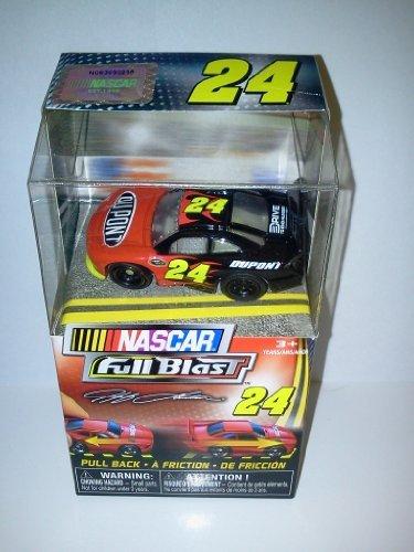 Nascar FULL BLAST Pull Back Car #24 Jeff Gordon Dupont 2011 New Release 2