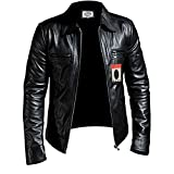 Laverapelle 1510200 Men's NAPPA Lambskin Real Leather Jacket - Large