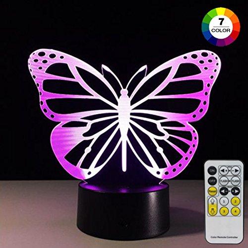Led 3D Butterfly Night Lights - 7