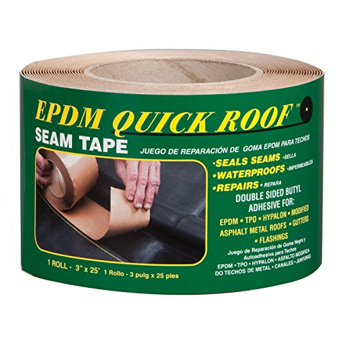 Rubber Roof Adhesive - Cofair Products BST325 3x25 BLK