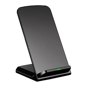 Cargador inalámbrico Qi de inducción rápida para iPhone 6/6 ...
