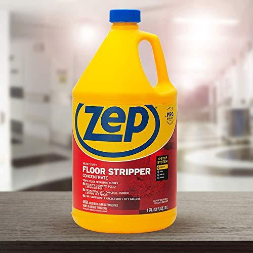 Zep Heavy-Duty Floor Stripper 128 ounce ZULFFS128 (Case of 4) Pro Formula