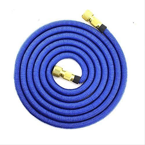 PXNH Expandable Garden Hose Tpe Inner Tube Drip Irrigation Magic Flexible High Pressure Car Wash Watering Hoses 100FT Blue