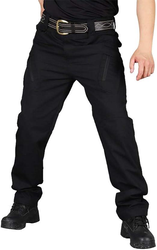 メンズカジュアルパンツ ズボン 抗スクラッチおよび抗スプラッシュ水多機能戦術屋外パンツ