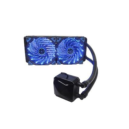Líquido congelador 240 CPU Cooler con xagoo ventiladores de 120 mm ...