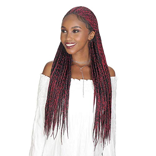 Royal Sis Diva Lace Synthetic Fulani Box Pre-Braided Lace Front Wig DIVA-LACE FULANI BOX 30