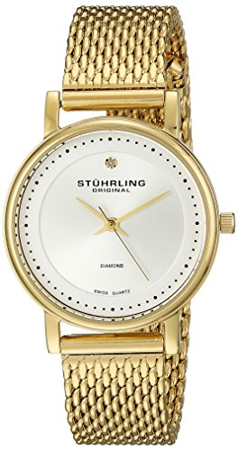 Gold Plated Swiss Watch - 8