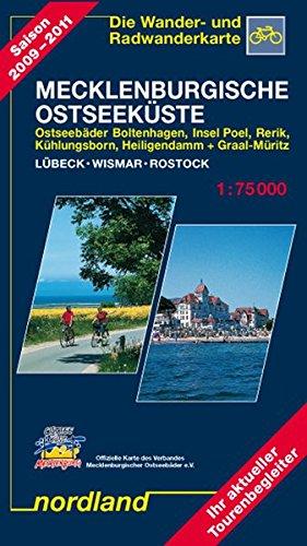Nordland Karten, Ostseeküste zwischen Lübeck und Rostock Sondereinband – 1. Mai 2013 Peter Kast Nordland-Kartenvlg 3928397036 Stadtpläne