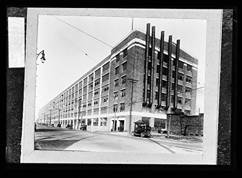 (Vintography 16 x 20 Ready to Hang Canvas Wrap Fisher Body Plant 1920 Detriot Publishing 72a )