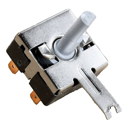 Compatible Rotary Start Switch for General Electric DBXR463EG1WW, General Electric DBXR463ED2WW, General Electric DJXR433EG6WW, General Electric DX4500EG1WW Dryer