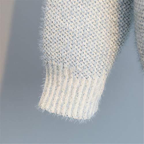 camicia Blu Moda Viaggio Fondo camicia Maglione Viaggio Da Europeo pullover Lostryy Sportivo Personalità Sciolte maglione americano q8nwZzO
