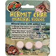 Zoo Med Laboratories SZMHC62 Zoo Hermit Crab Mineral Blocks