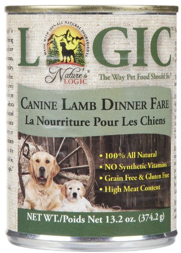 Nature's Logic Canned Food – Lamb – 12 x 13.2 oz, My Pet Supplies