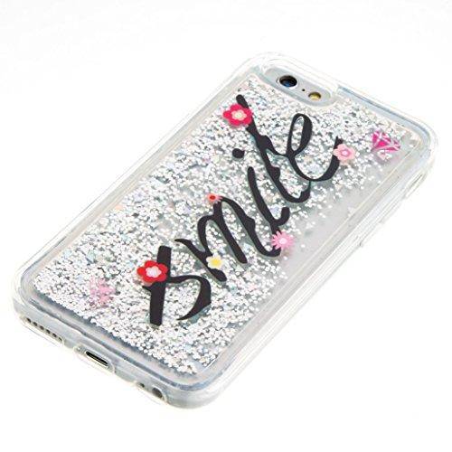 Für Apple iPhone 6 (4,7 Zoll) Hülle ZeWoo® TPU Schutzhülle Silikon Tasche Case Cover - GS130 / Lächeln