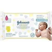 Lenço Umedecido Recém Nascido sem Fragrância, Johnson's, 96 Unidades