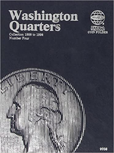 Washington Quarters Collection 1988 to 2000 Number Four