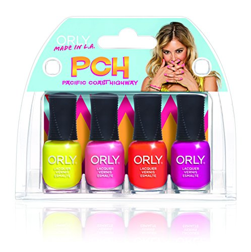 Orly Pch Mani Mini 4 Piece Kit