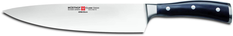 Wusthof Classic Ikon 9-Inch Cook's Knife, Black
