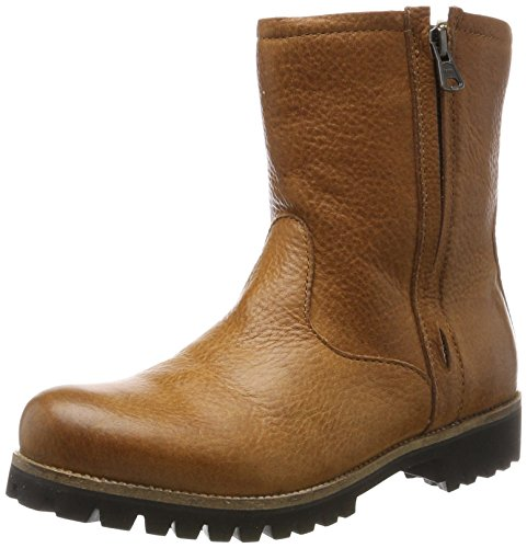 Blackstone Women's Ol24 Biker Boots, Brown Brown (Cuoio)