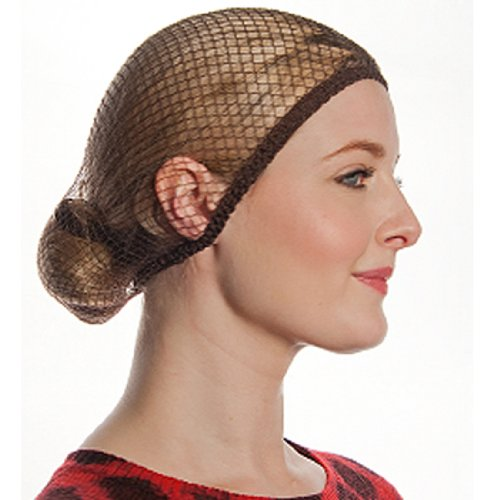 Aerborn Hairnets What Knot Medium to Long Hair Net, Light Brown by Aerborn Hairnets (Image #1)