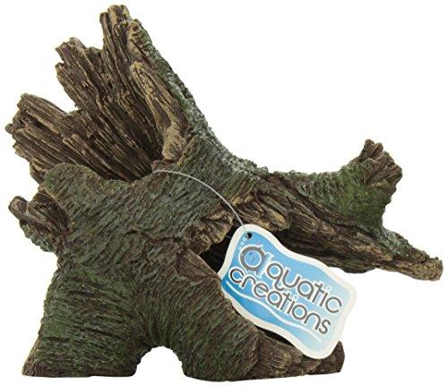 Log Ornament (Aquatic Creations Hollow Log Stump Aquarium Ornament)