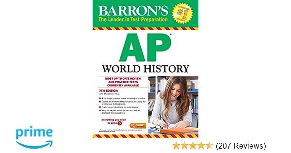 Amazon barrons ap world history 7th edition 9781438007823 amazon barrons ap world history 7th edition 9781438007823 john mccannon books fandeluxe Gallery