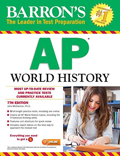 Barron's AP World History, 7th Edition cover
