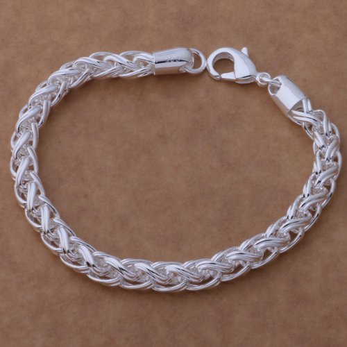 98c704b8d9099 mcitymall New Fashion 925 Silver Bracelet Chain