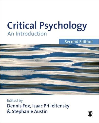 Critical psychology an introduction kindle edition by dennis fox critical psychology an introduction 2nd edition kindle edition fandeluxe Choice Image