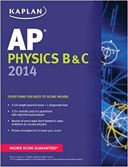 Book Kaplan AP Physics B & C 2014 (Kaplan Test Prep) by Paul Heckert (2013-08-06)